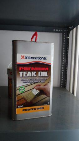 Premium Teak Oil, 4 liter