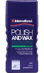 International Polish and Wax 500 ml